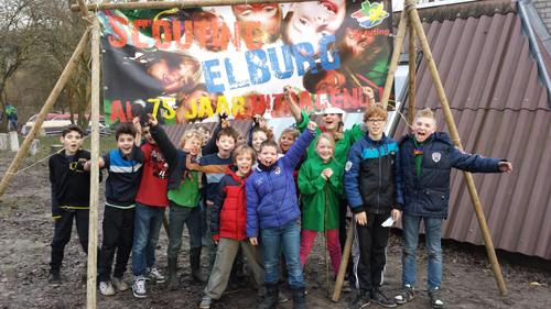 ns jarig Scouting N.S. Rambonluidt 75 jarig jubileum jaar in.   Regio  ns jarig